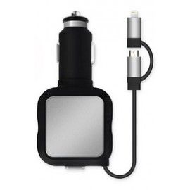 Double USB Car Charger, 4.8A