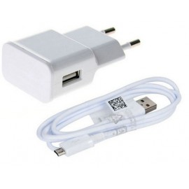 Cellphone USB Travel Charger/ Adapter with Detachable Micro USB Cable