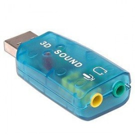 USB 7.1CH Virtual Sound Card