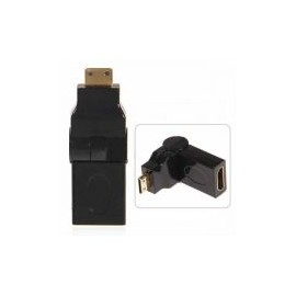 HDMI Male to HDMI Female Right Angle Adapter (Right)