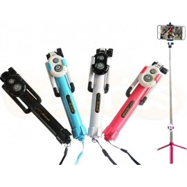 Selfie Stick + Tripod with Bluetooth Remote