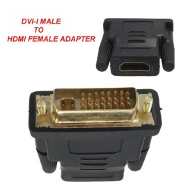DVI-I Male to HDMI Female Adapter
