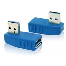 USB to Female USB Right Angle Adapter