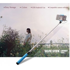 Monopod Selfie Stick with Quick Shoot Button