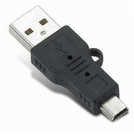 Mini USB to USB Male Adapter