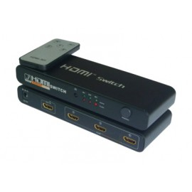 4 Port USB Hub with Switch