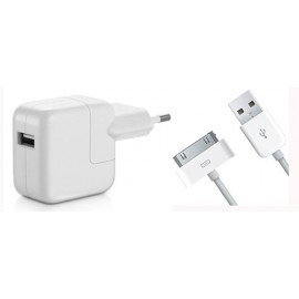 iPad Travel Charger/ Adapter with 30 Pin Cable