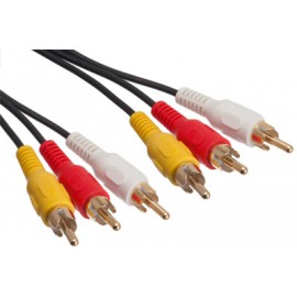 3 RCA to 3 RCA Cable 1.5m