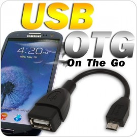 Micro USB to USB OTG