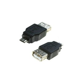 Micro USB to USB Female Adapter