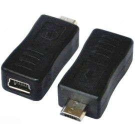 Micro USB to Female Mini USB Adapter