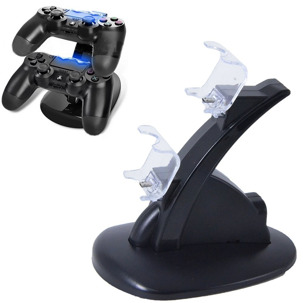 how to know when ps4 controller is finished charging