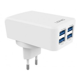 LDNIO 4 Port Wall Cellphone, Tablet Charger