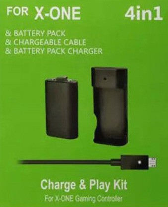 Other Accessories - Xbox One Charge + Play Battery Kit was