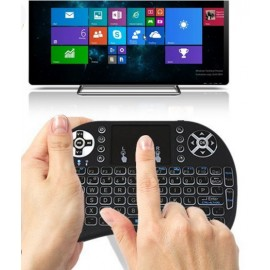 Mini Wireless Backlit Keyboard : Android, Smartphones, Xbox, PC