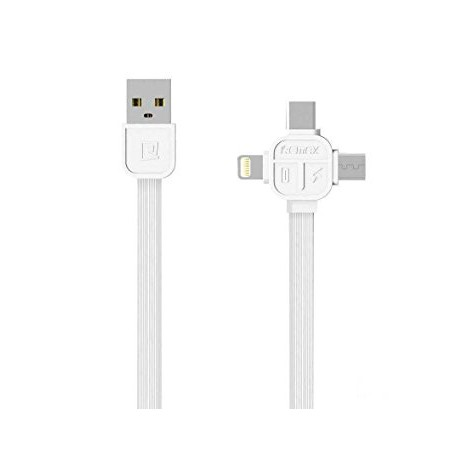 iPhone Lightning + Android Micro USB Double-Sided Cable
