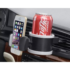 Cellphone + Cup Air Vent Holder/ Mount