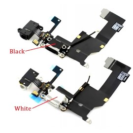 iPhone 5S Charge Port Flexi (Black or White)