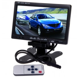 "TFT Monitor 7"" for Rear View Reverse Camera Setups, DVD"