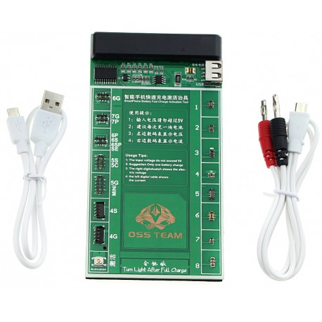 Phone Battery Charging & Activation Board : iPhone , Samsung, Huawei, Xiaomi