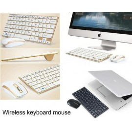 Mini PC Bluetooth Keyboard (Silver)