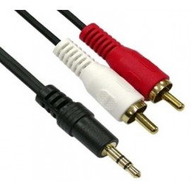 3.5mm to 3RCA Video Cable