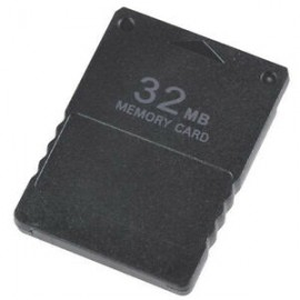 Playstation 2, 32MB Memory Card