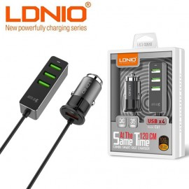 LDNIO Retractable iPhone + Android Cable