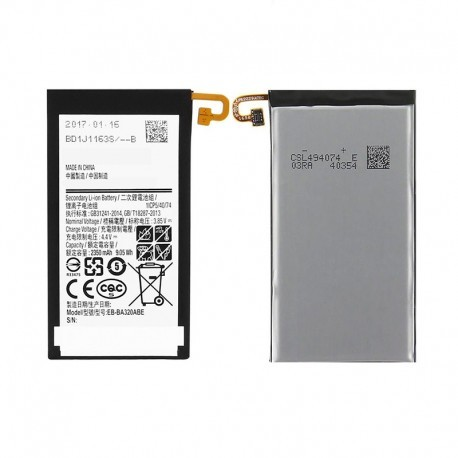 Samsung Galaxy A320 Replacement Battery : EB-BA320ABE