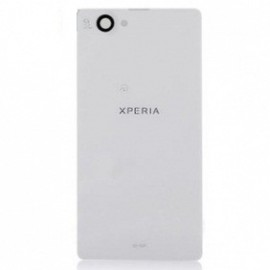 Sony Xperia Z1 Mini / Compact Battery Back Cover (Black or White)